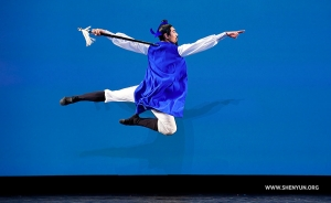 "Jason Pan as Li Bai the ""Immortal Poet."" (Adult male silver award co-winner)"
