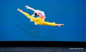Traveling firebird leap by Sunni Zhou.