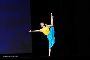 "Angela Lin in ""Faith.""  (Adult female bronze award co-winner)"