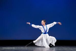 """Karina Fu in """"The Taoist Demeanor."""" (Adult female gold award co-winner)"""